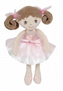 Bukowski - Ballerina dukke 30 cm - Nadinka - Hvid