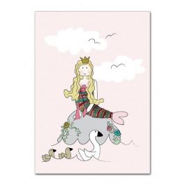 Kids by Friis - Lykønskningskort - Fødselsdagskort - Den lille Havfrue