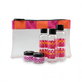 Gillian Jones - Check-in bag - Pink/Orange