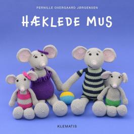 Klematis - Hæklede mus - Pernille Overgaard Jørgensen