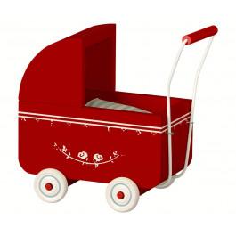 Maileg - Dukkevogn til micro kanin - Rød