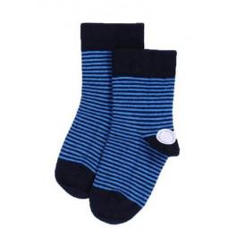 Smallstuff - Ankel sokker Navy/Blue, størrelse 25-28