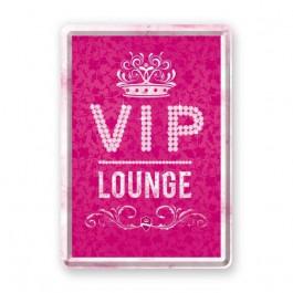 """Nostalgic Art - Metal Lykønskningskort - Fødselsdagskort - VIP """"pink"""" Lounge"""