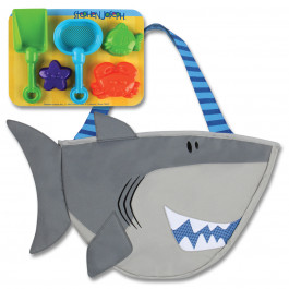Stephen Joseph - Strandtaske med sandlegetøj - Haj