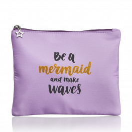 Studio - Børne toilettaske - be a mermaid and make waves - Lilla