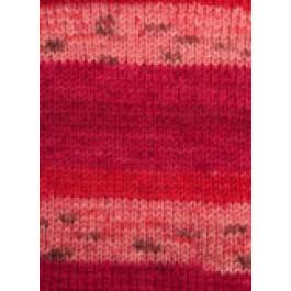Svarta Fåret - Frost - Strømpegarn - Multi rød