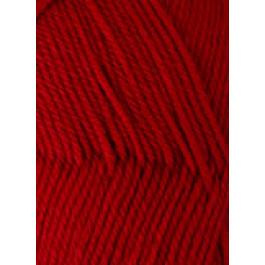 Svarta Fåret - ULRIKA 100% Soft Superwash Uld garn - Rød