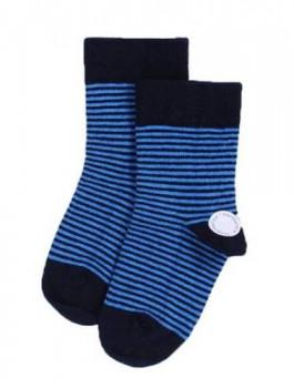 Ankel sokker Navy/Blue, størrelse 32-36