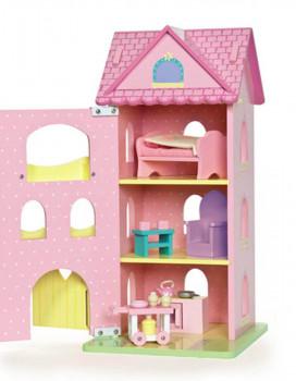 Le Toy Van - Dukkehus i træ - Prinsessetårn