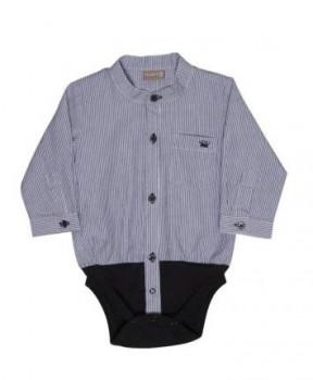 Hust & Claire - Skjorte body - Stribet Str. 92