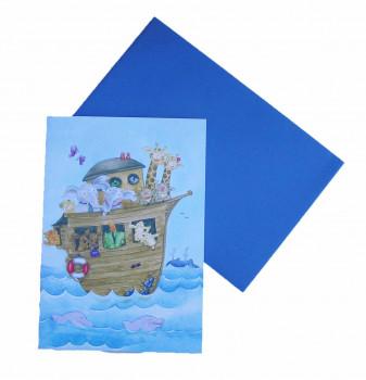 Lykønskningskort - Fødselsdagskort - Noahs Ark