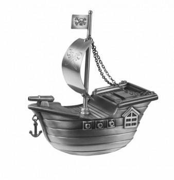 Nordahl Andersen - Fortinnet Sparebøsse - Sørøverskib