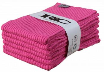 RIC - Økologisk strikket karklud - Pink