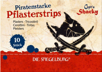 Børne plaster - Piraten Kaptajn Sharky