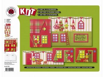 DIY - Lav selv de fineste julekort - 10 kort