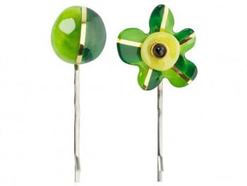 Lalo - Hårpins - Hårnåle - Green Flower