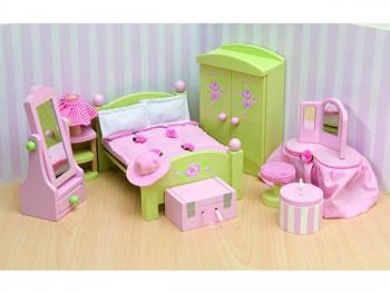 Le Toy Van - Dukkehusmøbler - Rosebud - Soveværelse