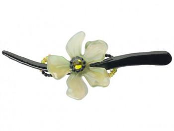 Lalo - Hårspænde - Big green flower