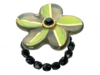 Lalo - Ring - Evergreen Flower