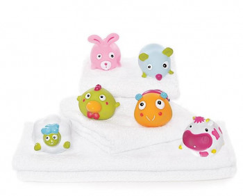 Teddykompaniet - Ted in Tub, 6 søde og sjove bondegårds dyr