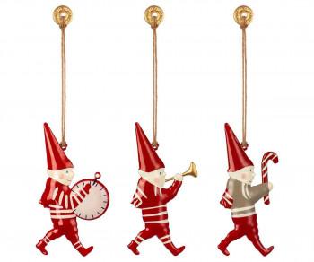 Maileg - Julepynt - Christmas ornaments - 3 stk. i box - Pixies
