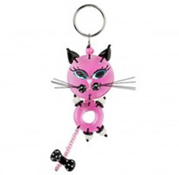 Lalo - Nøglering - Pink Cat