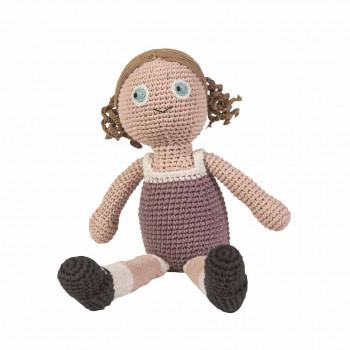 Sebra - Hæklet Dukke - Daisy