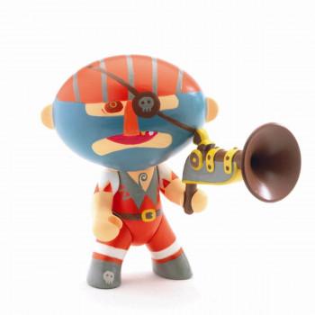 Djeco - Arty Toys - Piratfigur – Barbazur