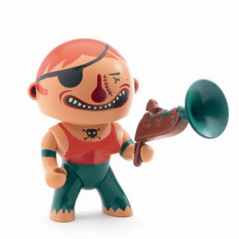 Djeco - Arty Toys - Piratfigur – Bronson