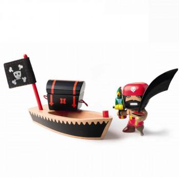 Djeco - Arty Toys - Piratfigur – El Loco