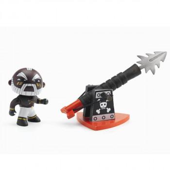 Djeco - Arty Toys - Piratfigur – Marcus & hans harpun