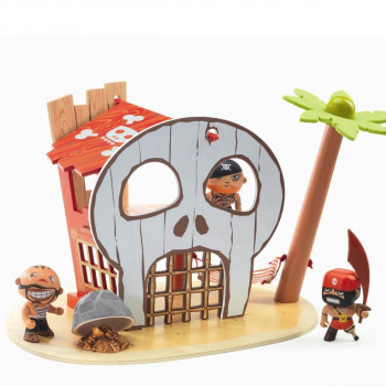 Djeco - Arty Toys - Piratfigur – Piratøen
