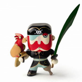 Djeco - Arty Toys - Piratfigur – Sam Parrot