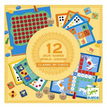Djeco - Brætspil - Klassisk spillemagasin for de små