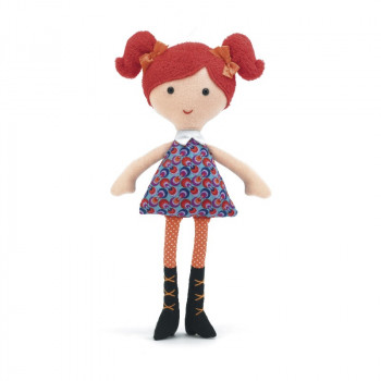 Jellycat - Carnaby Cutie dukke 28 cm - Kiki
