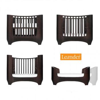Leander - Baby / juniorseng 0-7 år - Valnød