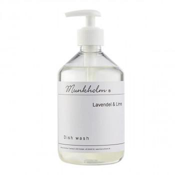 Munkholm - Opvaskemiddel med pumpe, miljøvenligt - Lavendel & Lime - 500 ml.
