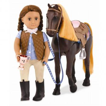 Our Generation - Dukketilbehør - Fuldblods hest med bevægelige ben
