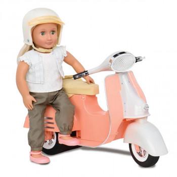 Our Generation - Dukketilbehør -  Fersken Scooter