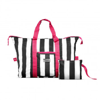 Gillian Jones - Travel Bag - Weekend taske - Sports taske - Sort, hvid og pink