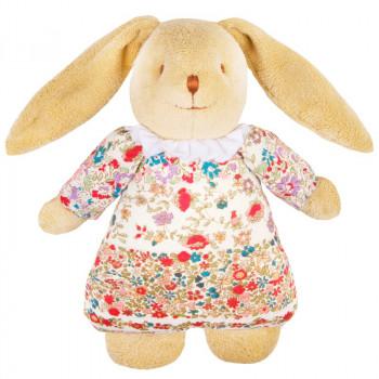 Trousselier - Kanin bamse med spilledåse - Liberty of London flower
