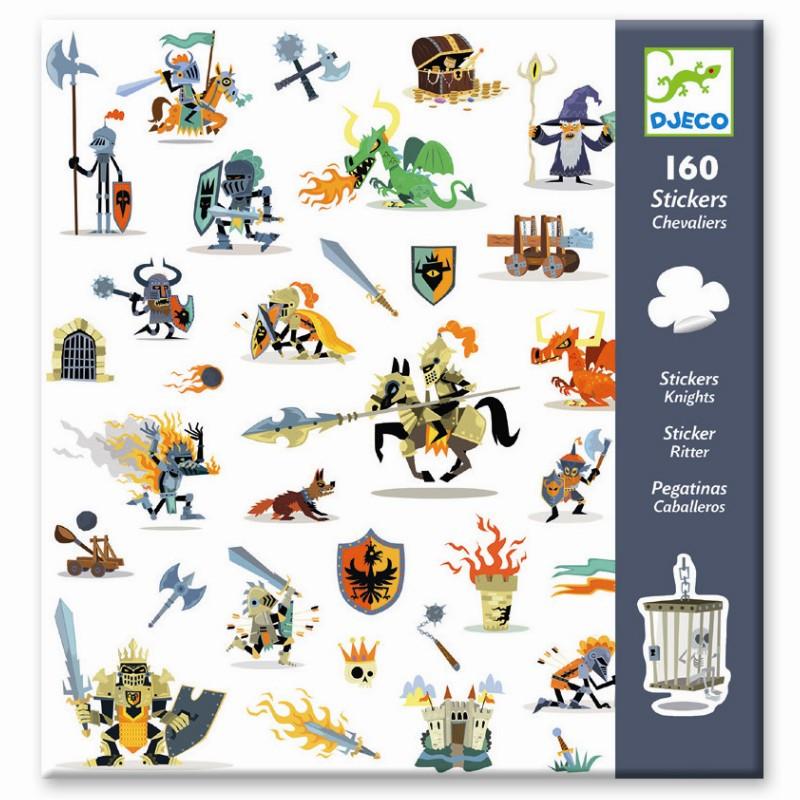 Djeco Klistermærker Stickers Klistermærker Til Børn