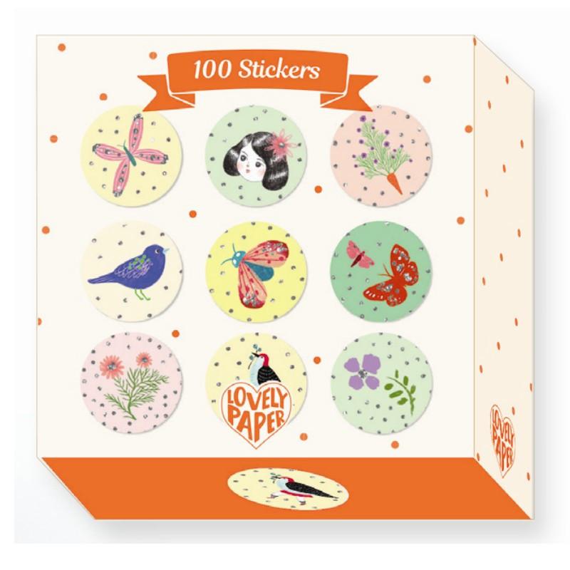 Djeco Lovely Paper Klistermærker Stickers