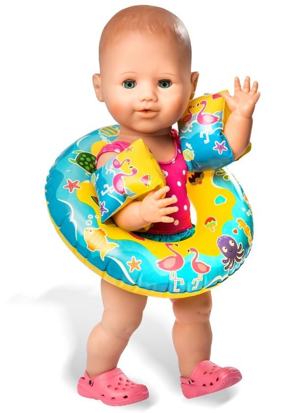 a743f802a1af Baby dukke - Min første dukke - Dukke tilbehør - Badesæt - Badering ...
