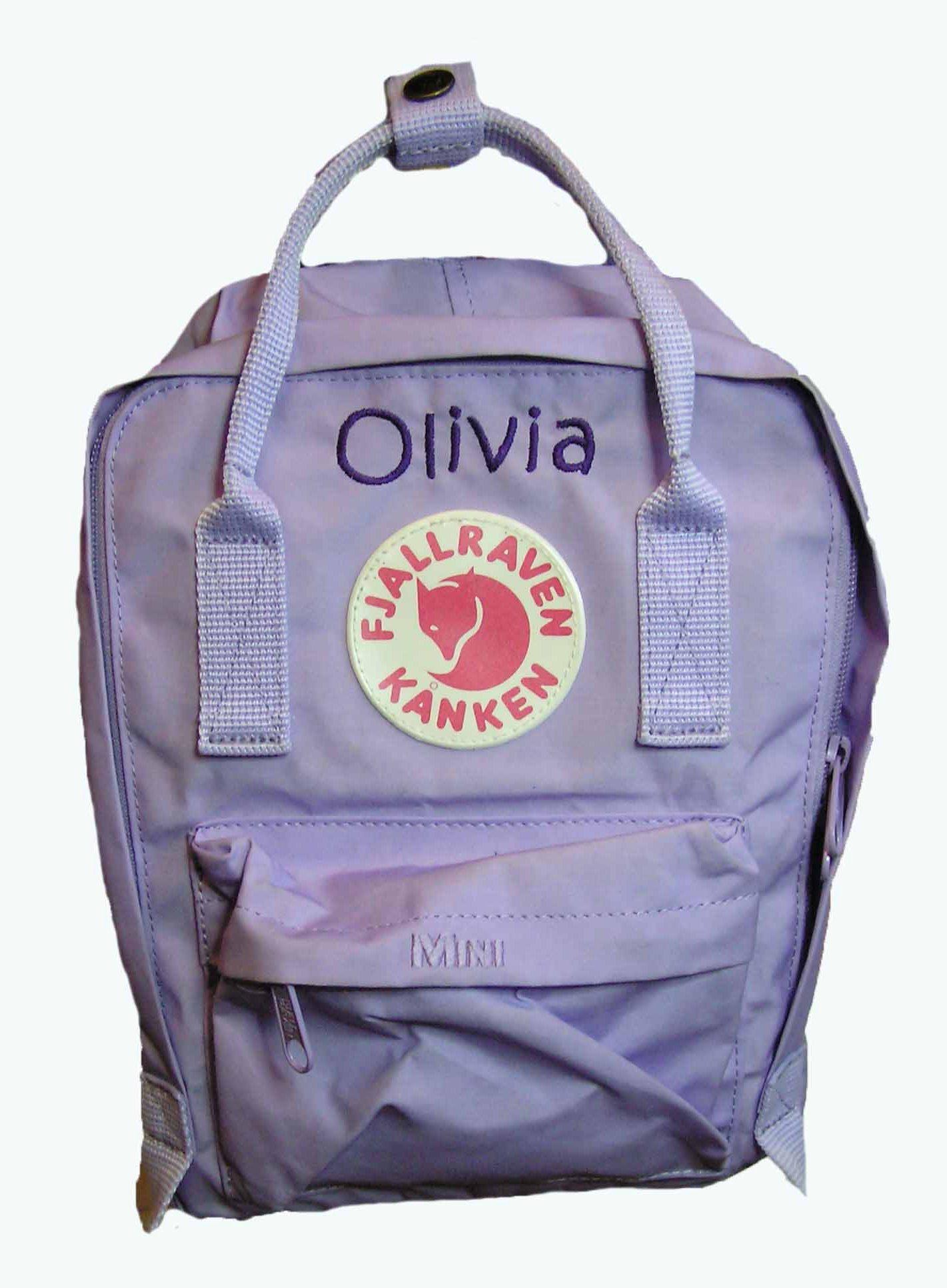 Fjællræven rygsæk med navn - Børnerygsæk - Rygsæk til børn - Taske med navn til børn