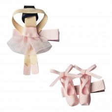 Milledeux - Hårspænde 2 stk - Ballerina
