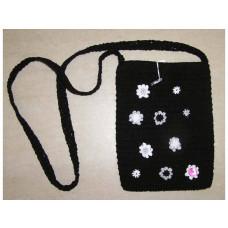 Smallstuff - Hæklet taske - Sort