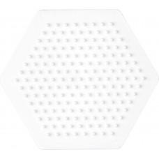 Hama - Midi perleplade - Lille sekskantet