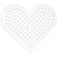 Hama - Midi perleplade - Lille hjerte