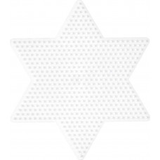 Hama - Midi perleplade - Stor stjerne